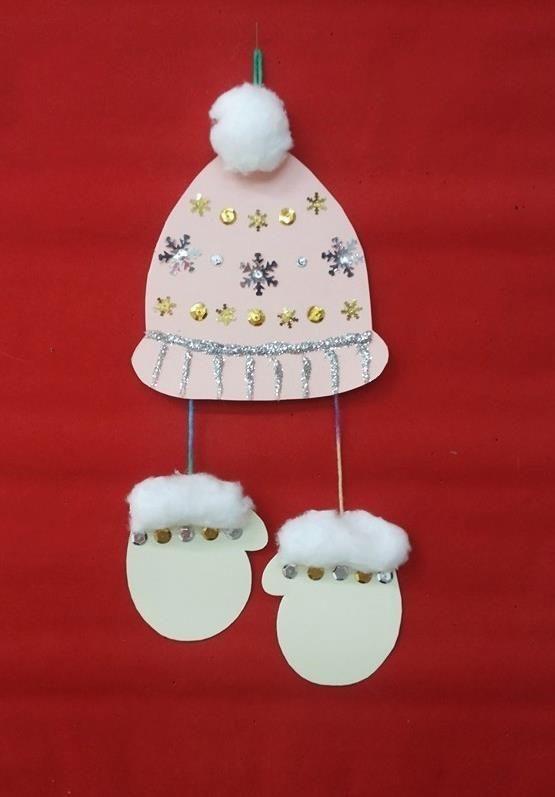 Basteln mit Kindern und Kleinkindern im Winter * Mission Mom #geschenkebastelnmitkindernweihnachten