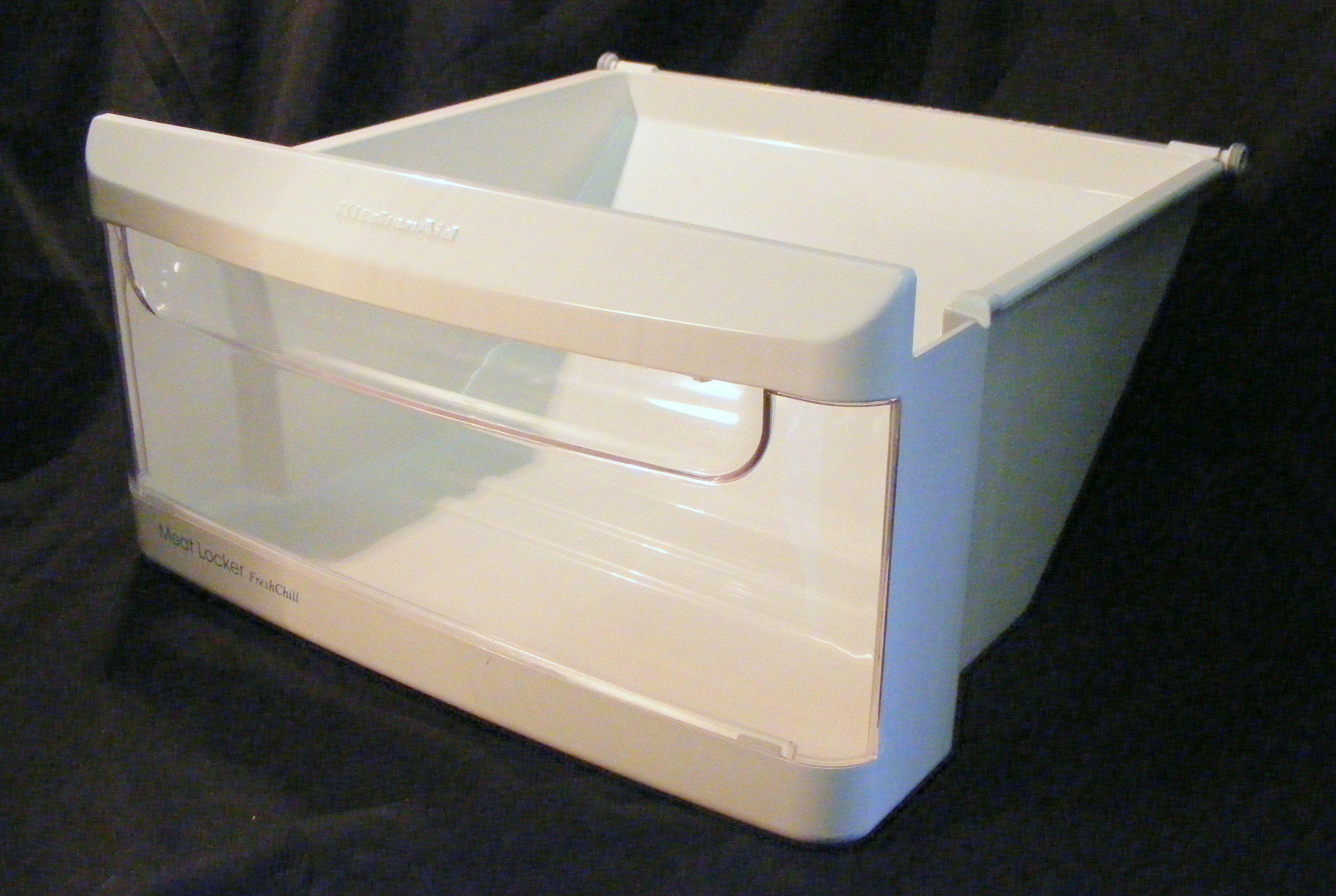 2179231 2174090 kitchen aid refrigerator meat drawer pan