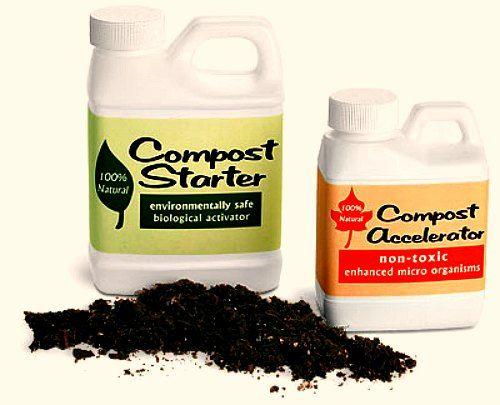compost accelerators, compost starts, compost activators, compost boosters. Do you need them?