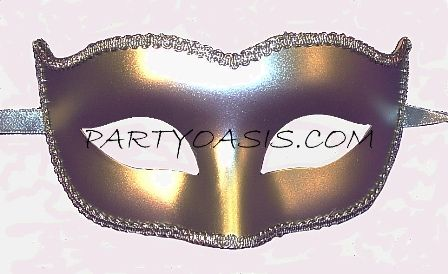 Plastic Masks To Decorate Basic Silver Mask $395 Partyparty Oasis We Could Get A Lot
