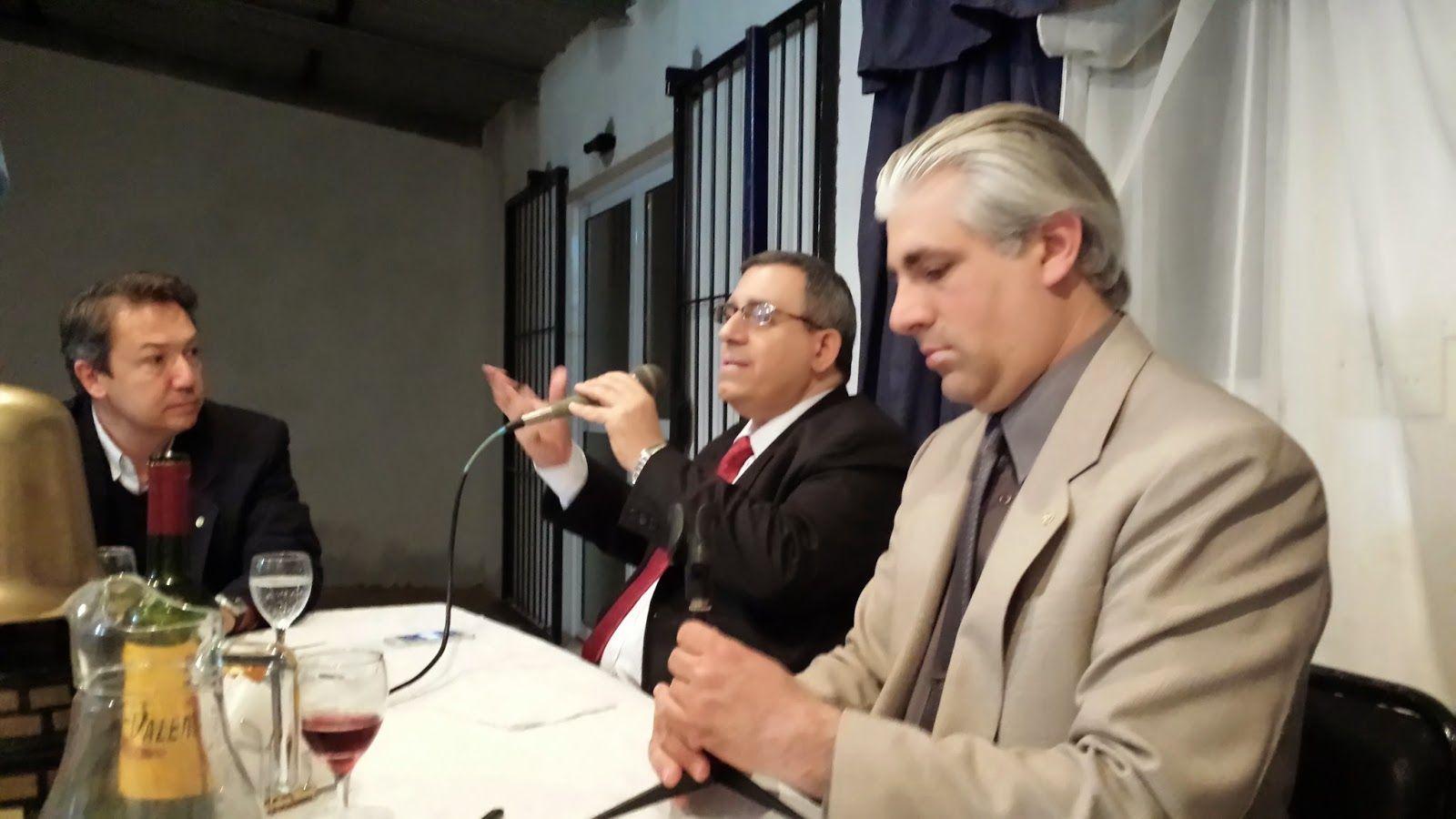 ROTARY CLUB QUILMES: Carlos Maslaton en nuestro Club