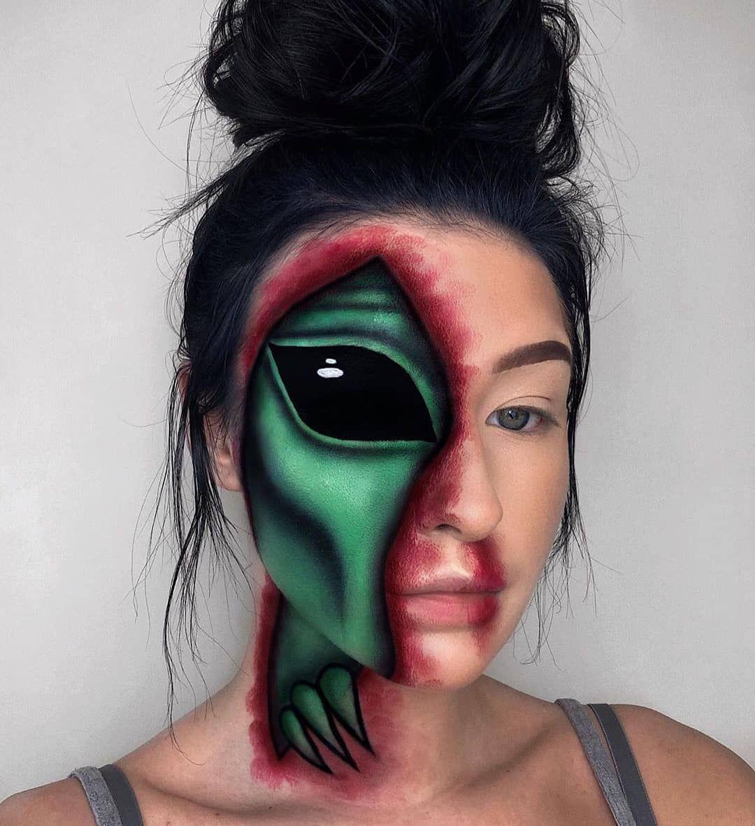 Más reciente Imágenes maquillaje disfraz Popular,Sombra