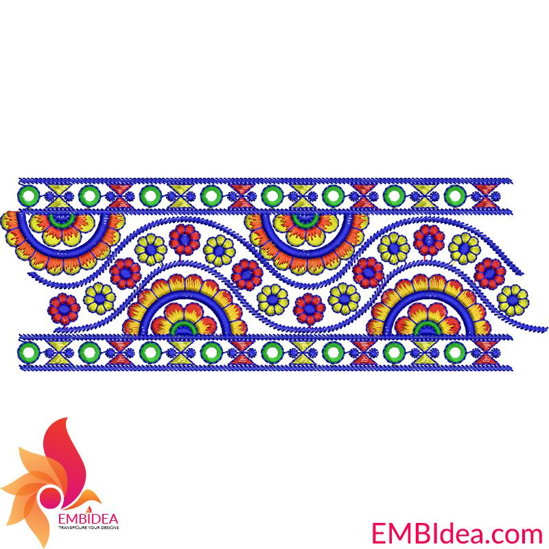 Multi Less Embroidery Design Free Download In Emb Format From
