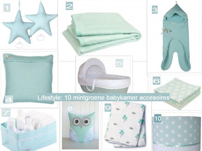 moodboard voor de babykamer | babykamer | pinterest | mint and, Deco ideeën