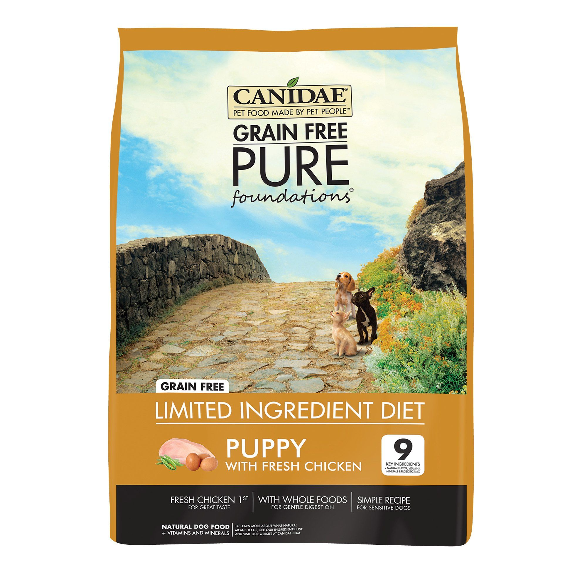 Canidae pure grain free limited ingredient real chicken