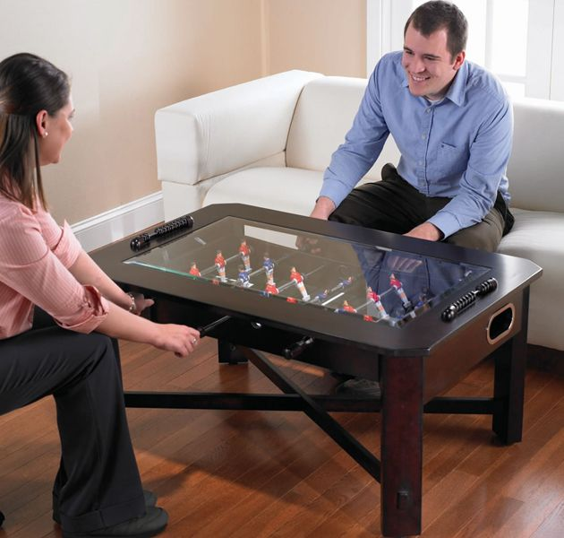 Foosball Coffee Table For Game Room Or Living Room Coffee Table