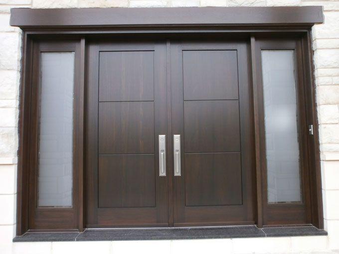Custom Wood entry doors- Portes du0027entrée en bois - Portes Bourassa