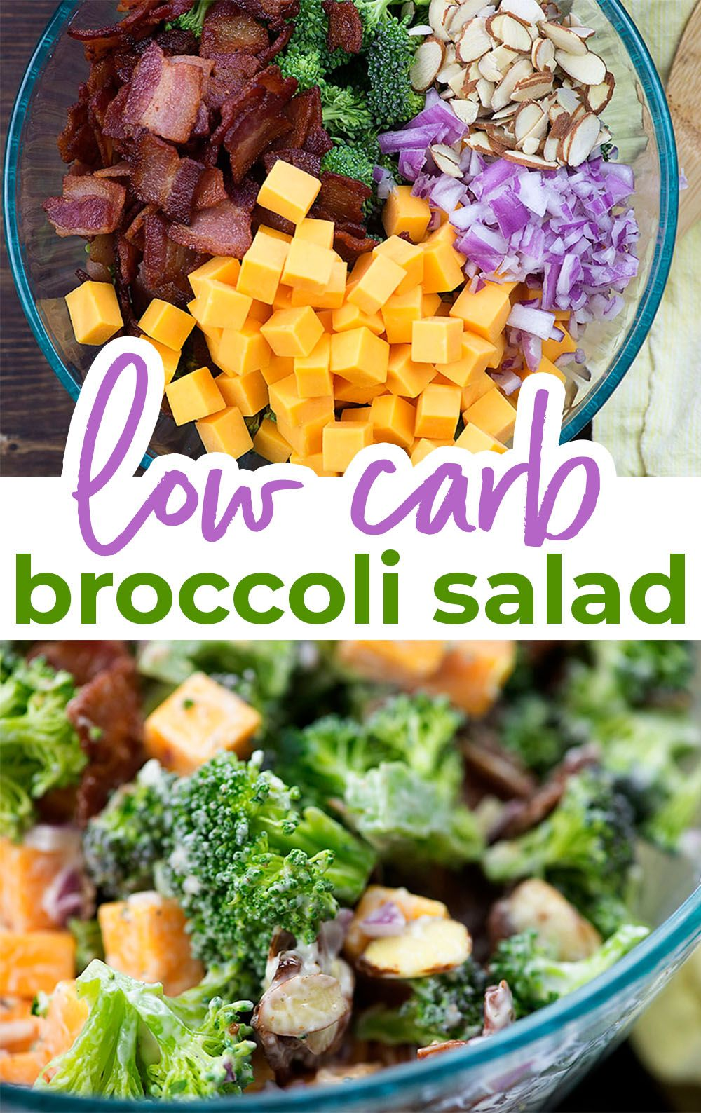 Photo of Cheddar, bacon, and ranch make this broccoli salad a hit with everyone that trie…
