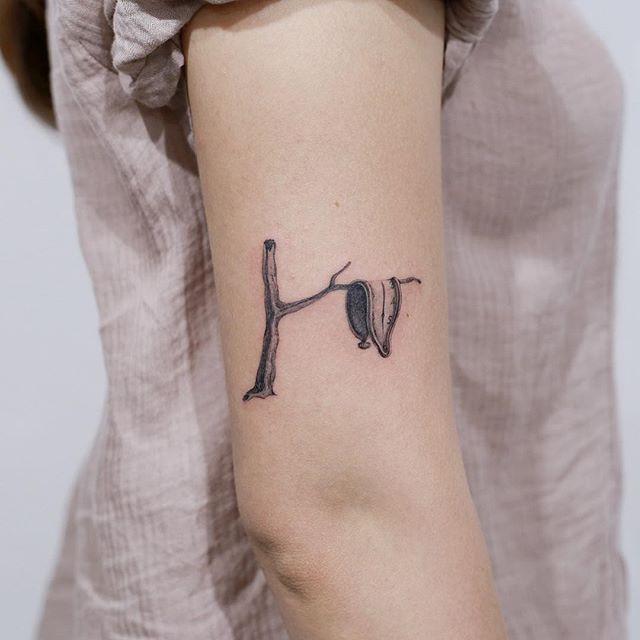 Salvador Dali Tattoos Dali Tattoo Unique Tattoos