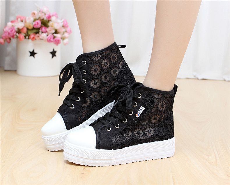 Mens Skateboard SportHip hop High Top hidden Shoes Casual Sneakers outdoor new