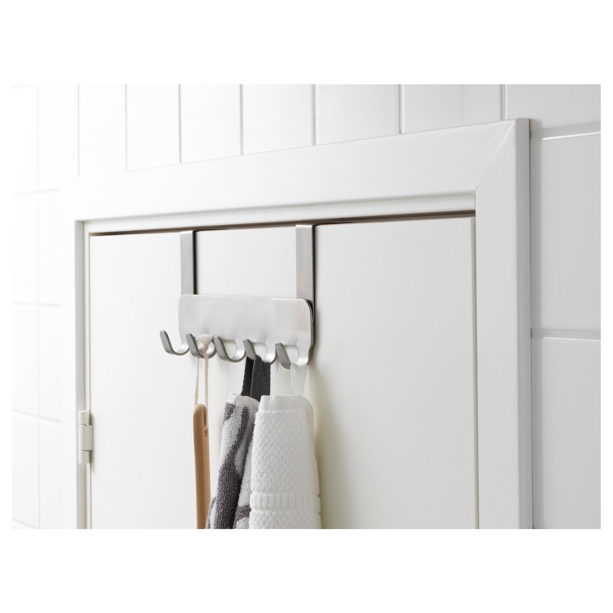 Ikea Brogrund Hanger For Door Stainless Steel Porte Acier Ikea Et Patere De Porte