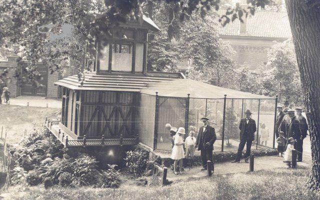 prinsentuin 1930 Historisch Centrum Leeuwarden - Beeldbank Leeuwarden