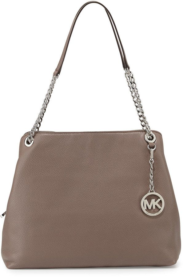 5ac96d77fd0c MICHAEL Michael Kors Jet Set Large Chain Shoulder Tote Bag, Cinder ...