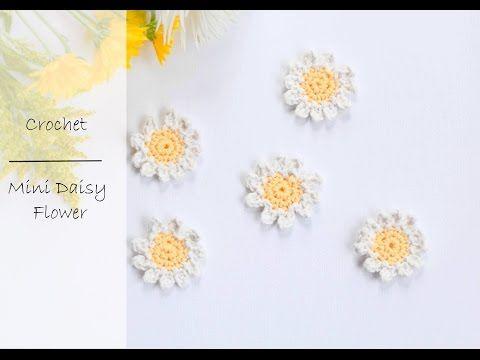 Crochet For Beginners Free Mini Flower Crochet Pattern Youtube