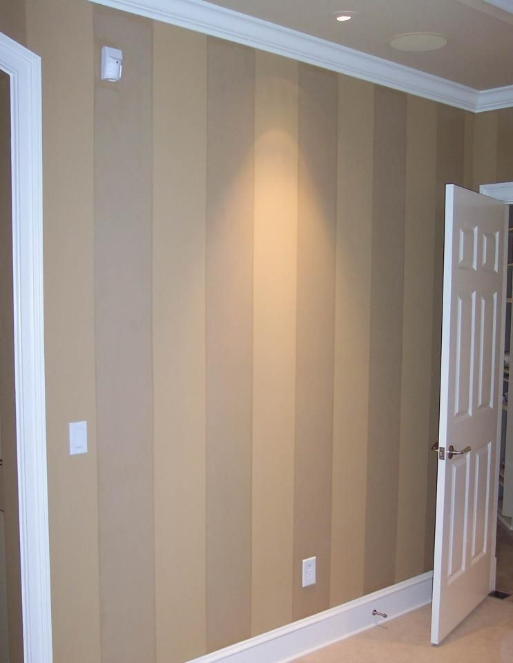 Tip creative use of paint sheens to create a subtle - Satin paint on walls ...