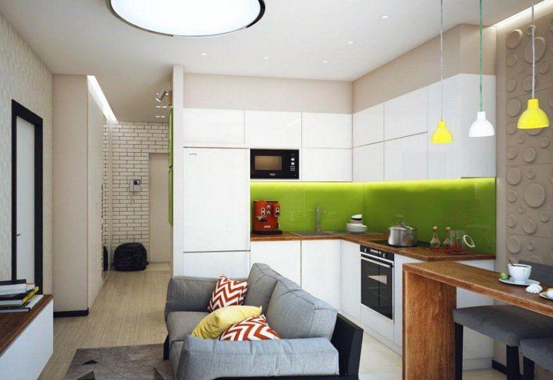 Am nagement petite cuisine conseils id es et photos cuisine amenagement petite cuisine - Mini cuisine equipee ...