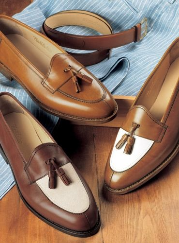 New for Spring! The Split Toe Tassel Loafers (con imágenes