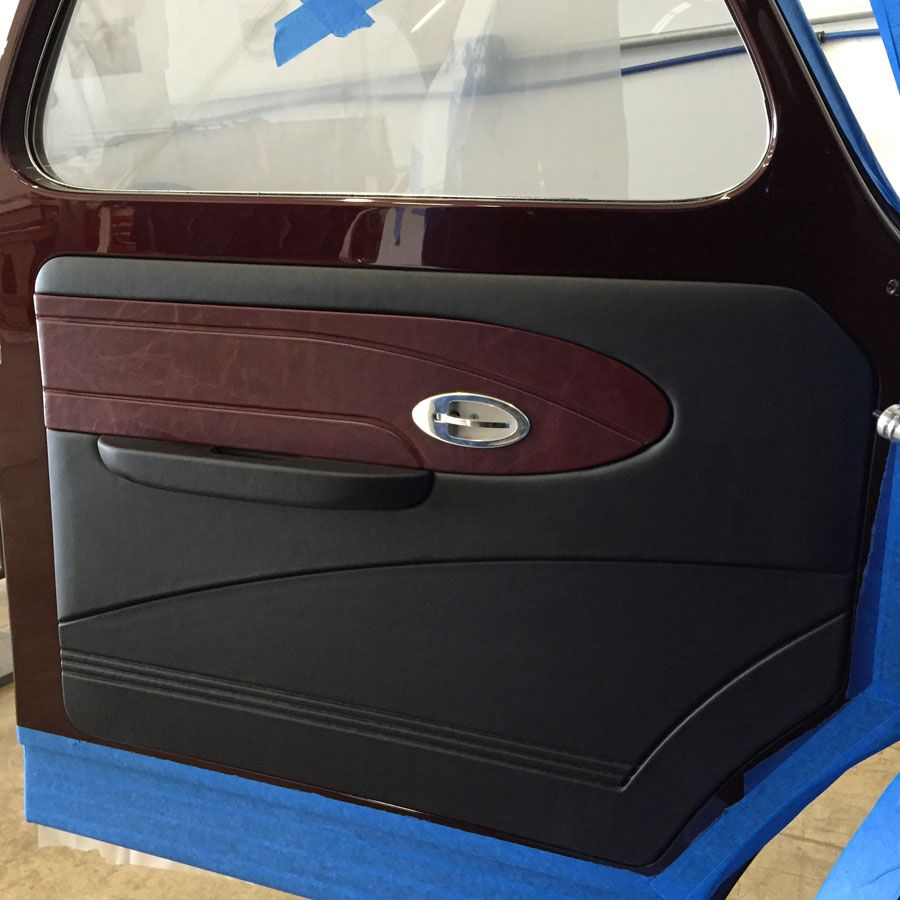 Bux Customs | Custom Hot Rod Interiors | Hot rods, Truck ...