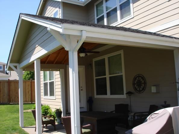 Gable roof patio cover plans gable patio cover outdoor for Plans for a patio cover