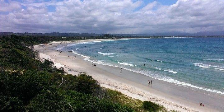 Beach, Byron Bay, New South Wales, Southeastern Australia, Australia, Oceania
