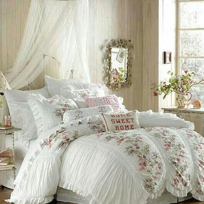 ♥ Bedroom ~ Cottage Decor