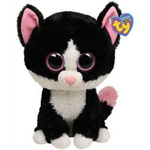 Beanie Boos Medium- Pepper the Black Cat by Ty  5d5cb5f4d0c