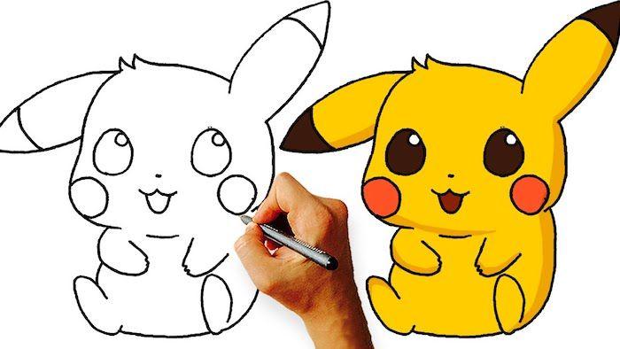1001 Idees Pour Creer Le Plus Beau Dessin Mignon Dessin Chibi Dessins Mignons Dessin Pikachu