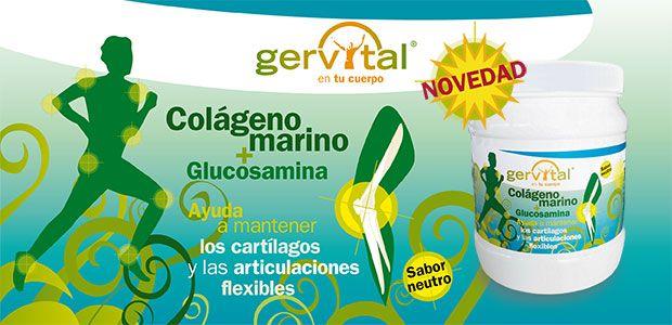 Colã Geno Y Glucosamina Lo Mã S Natural Para Cuidar Las Articulaciones Gervital Personal Care Toothpaste Person