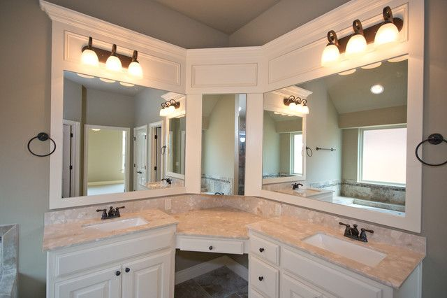 Bathroom Sinks Splendid Ideas Corner Double Sink Bathroom Vanity ...