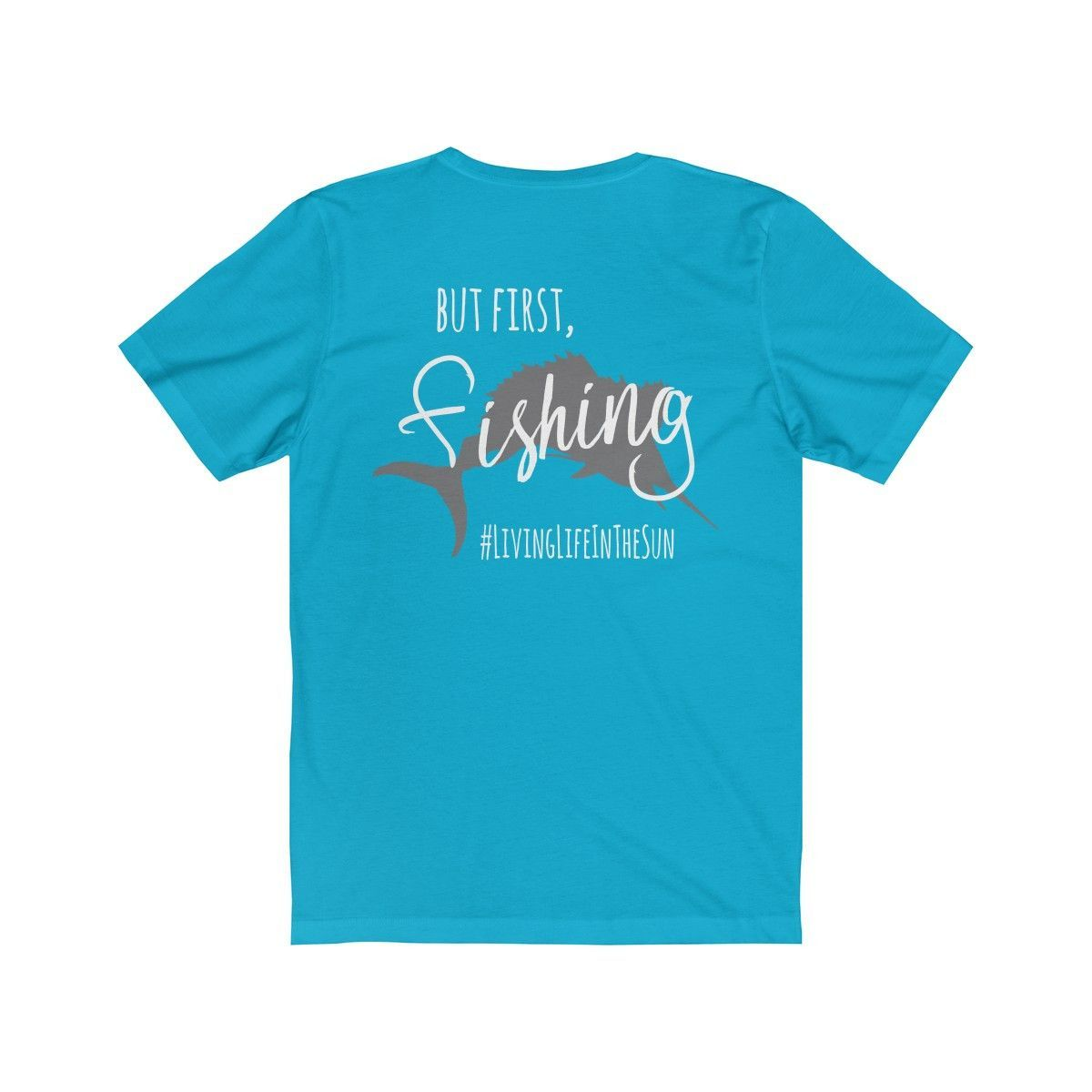 But First, Fishing - Women's Jersey Short Sleeve Tee