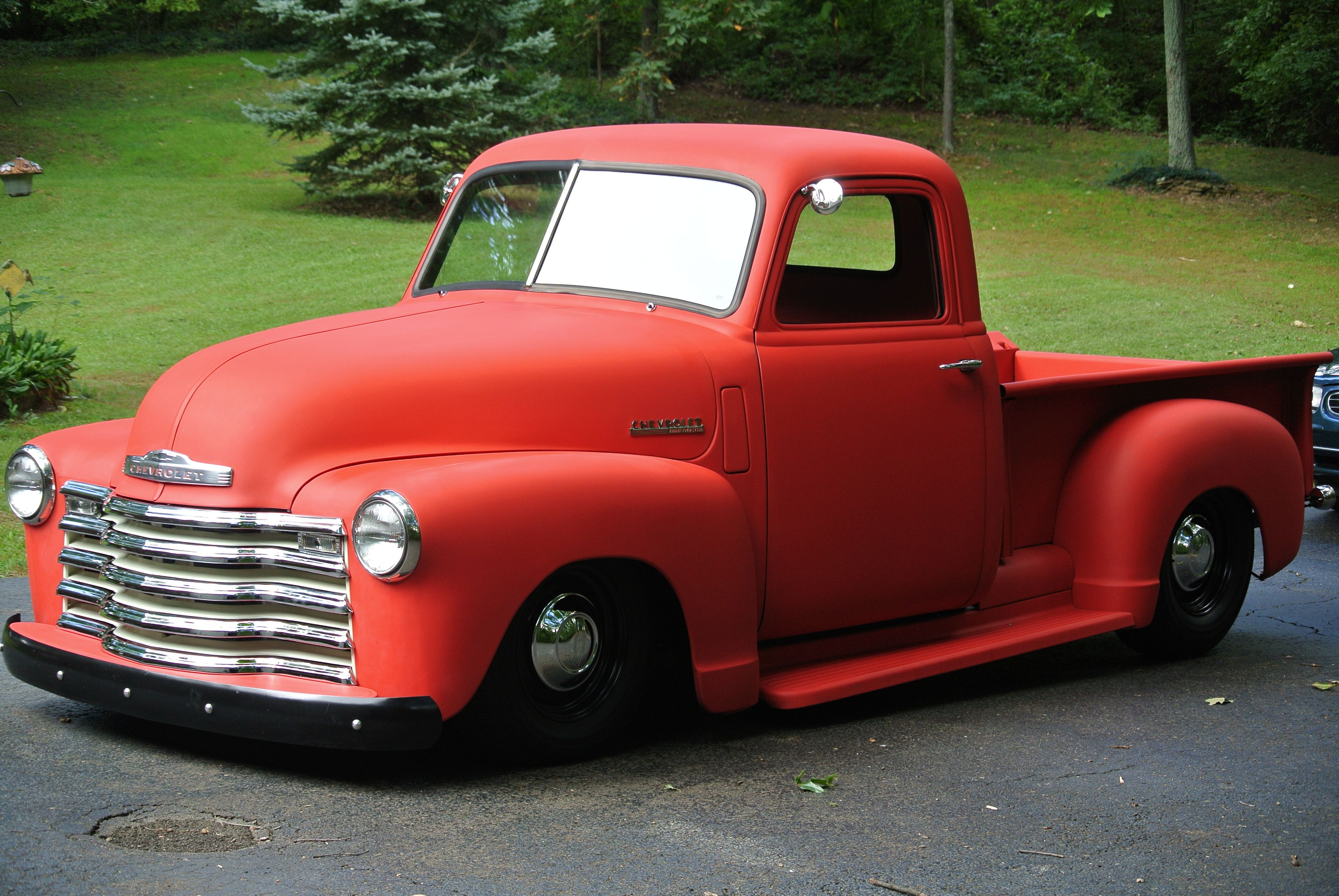 Dad s 49 chevy truck