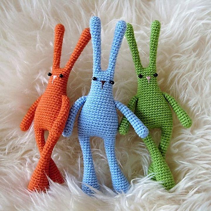 30 Plus Free Crochet Amigurumi Patterns   Conejo, Patrones y Tejido