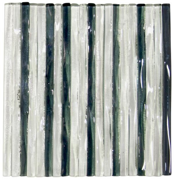 Murano Clear Tempest Glass Tile X Pk Backsplash Pinterest - Clear glass tiles 4x4