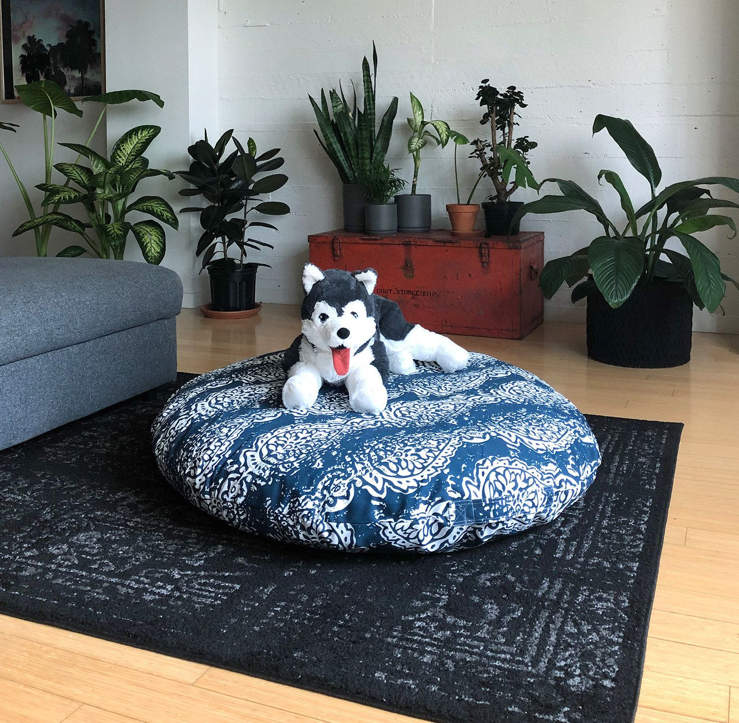 Dog Bed Cover Giant Breed Dihult Slipcover Ikea Floor Pillow