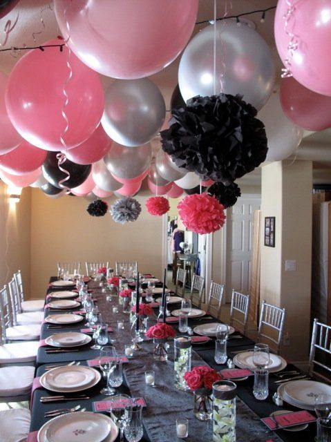 Red Black Bridal Shower Decorations Red Black Themed Bridal