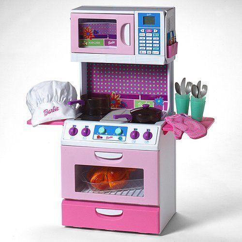 Rare Barbie Cook With Me Smart Kitchen Rare Pretend Play