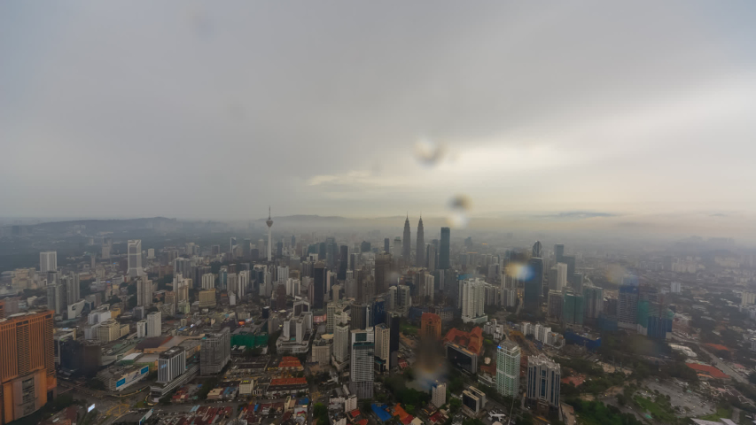 Time Lapse Aerial City View Stock Footage Video 100 Royalty Free 1030201466 City View Aerial Kuala Lumpur City