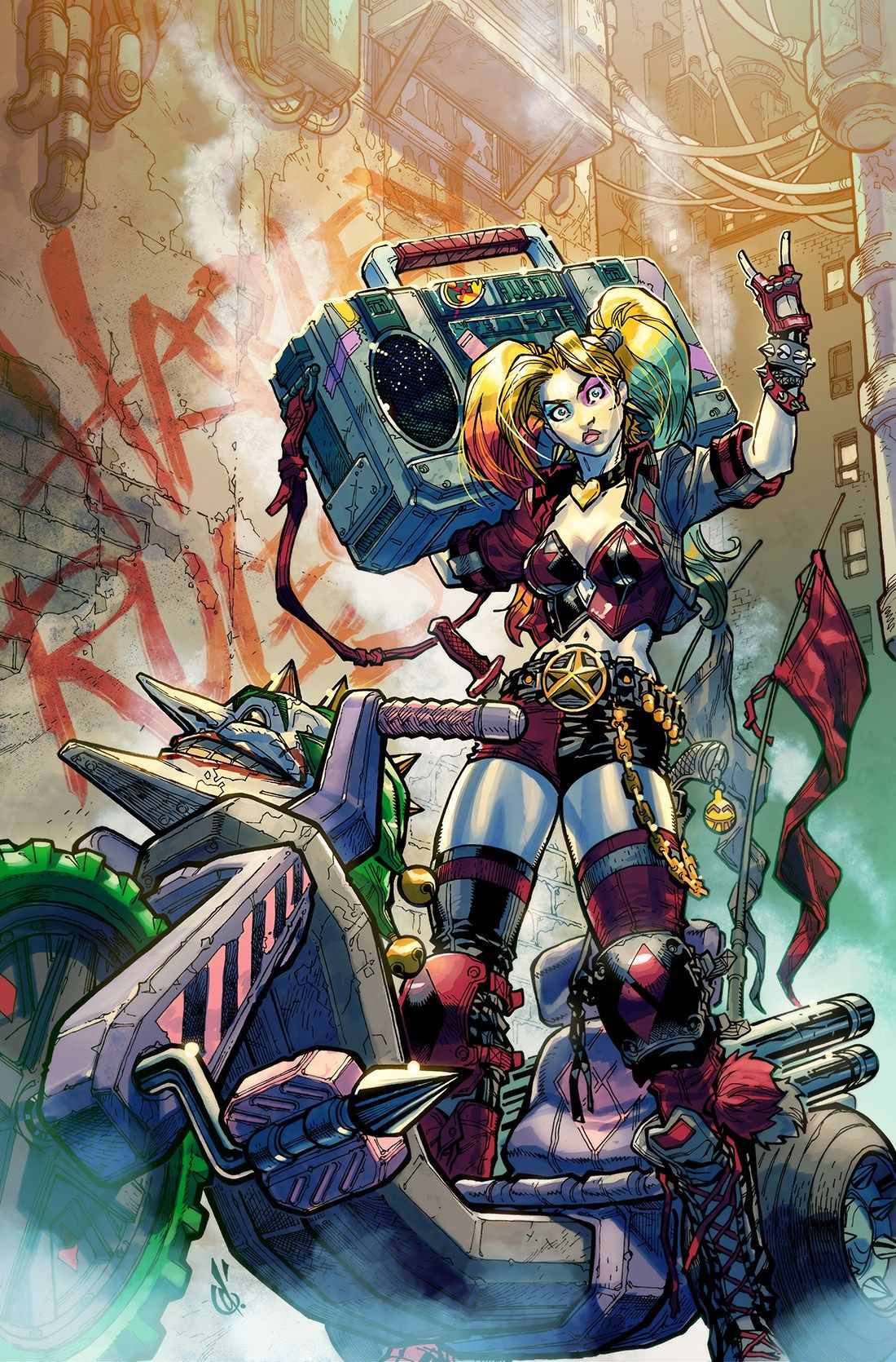 Break into comics with Harley Quinn! | DC