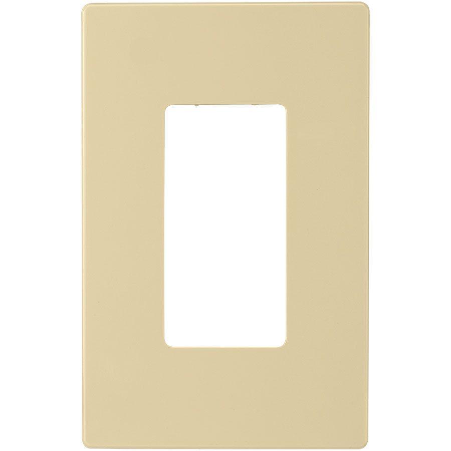 Eaton 1-Gang Ivory Single Decorator Wall Plate | Bed | Pinterest ...