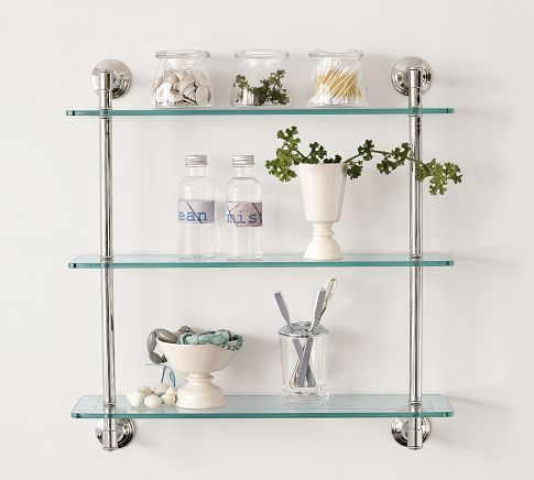 Mercer Triple Gl Shelf With Images