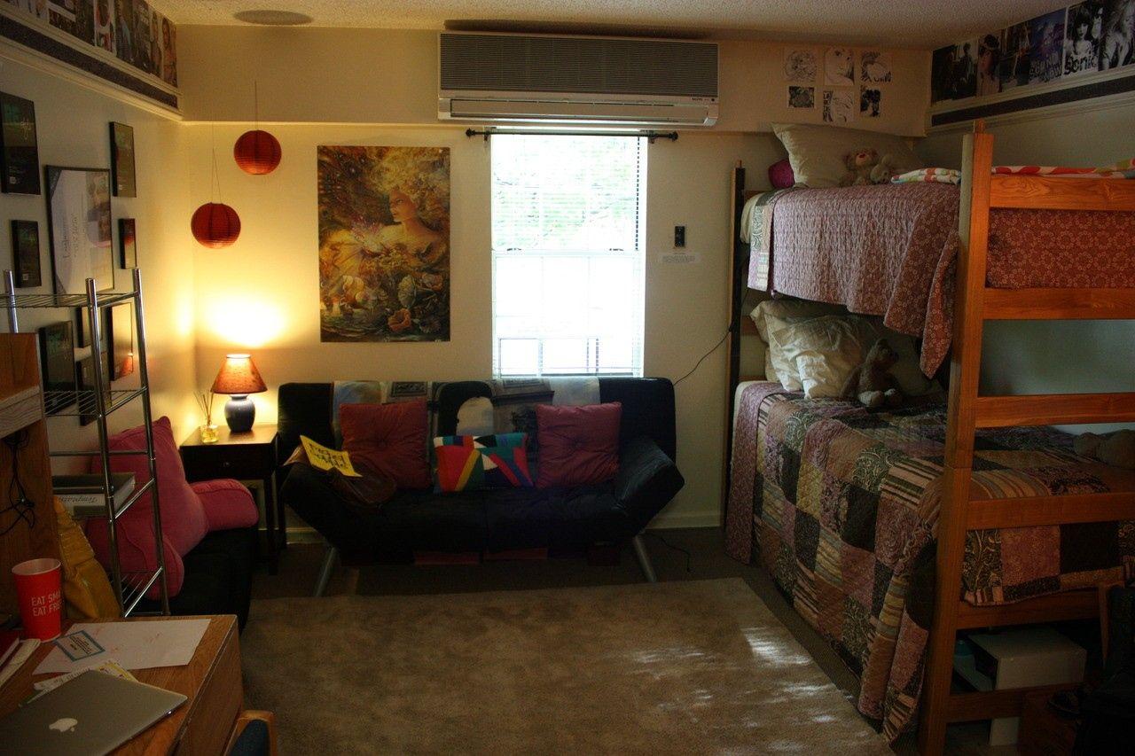 College loft bed ideas  Dorm Room Bunk Beds  Interior Paint Color Ideas Check more at