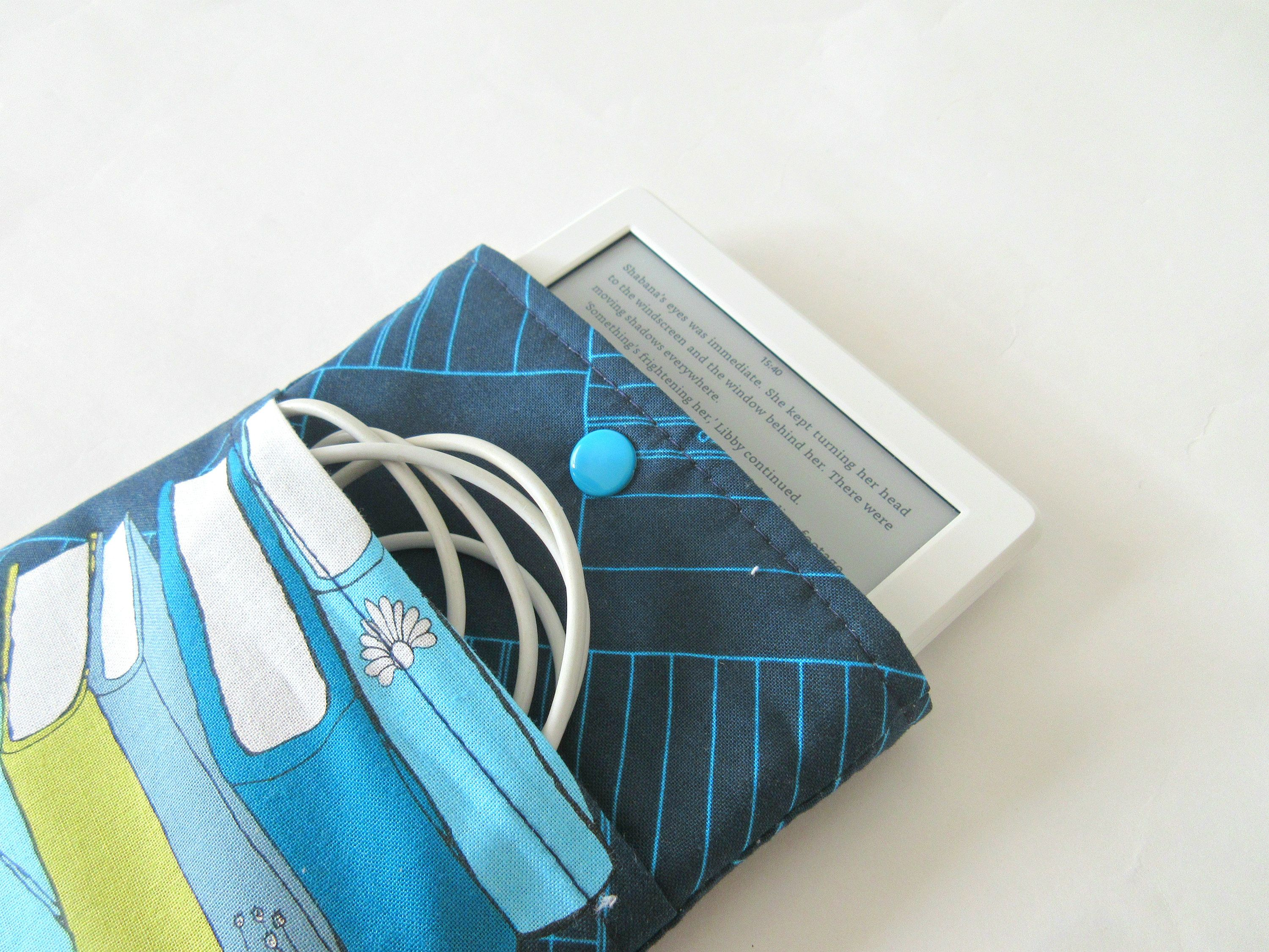Kindle Paperwhite case cover travel with pocket and Kam snap