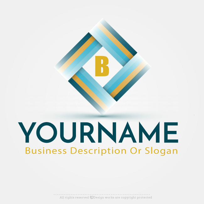 Online Logo Creator Abstract Square Label Logo Template Online Logo Creator Logo Design Software Online Logo