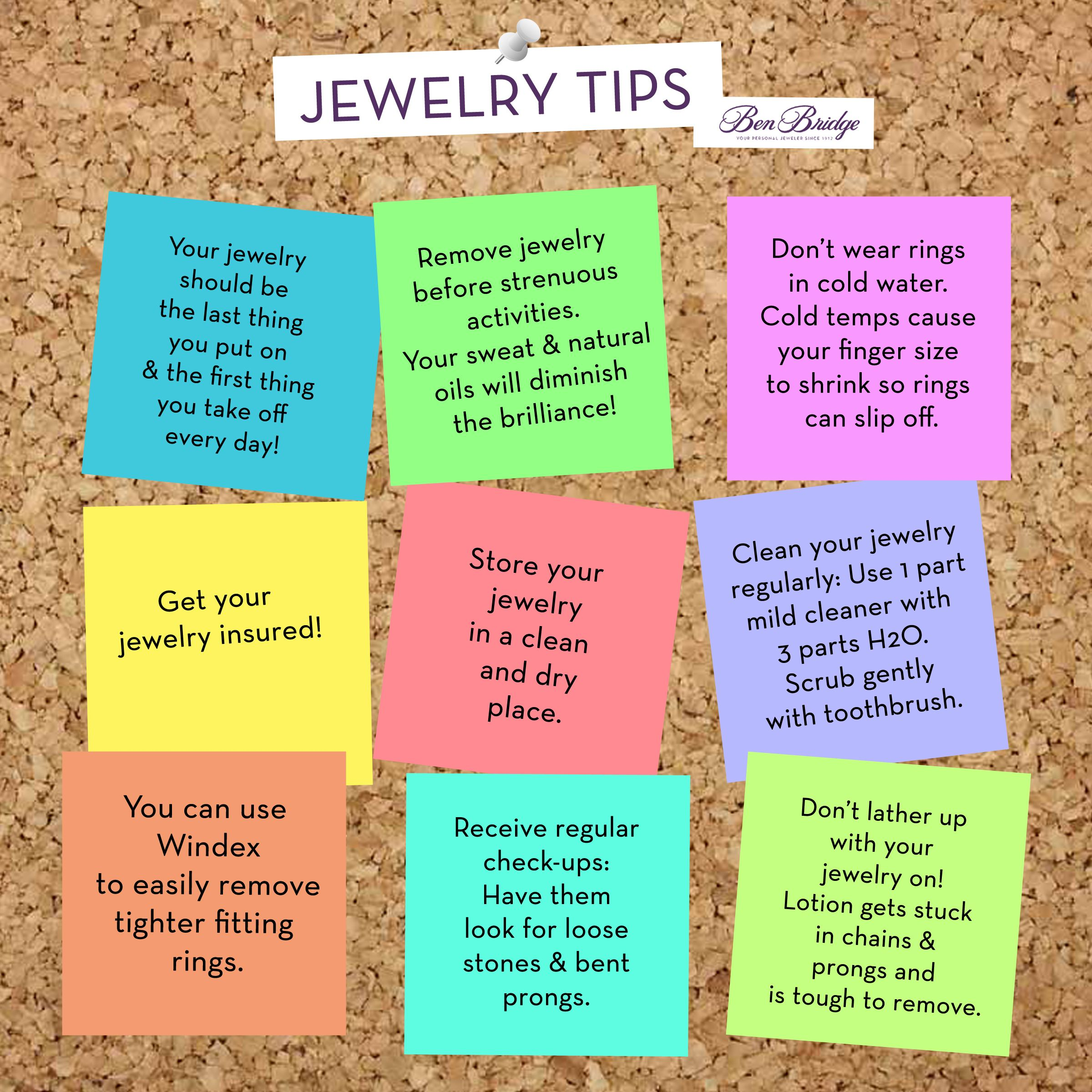 9 fun jewelry tips for jewelry owners have a tip to add