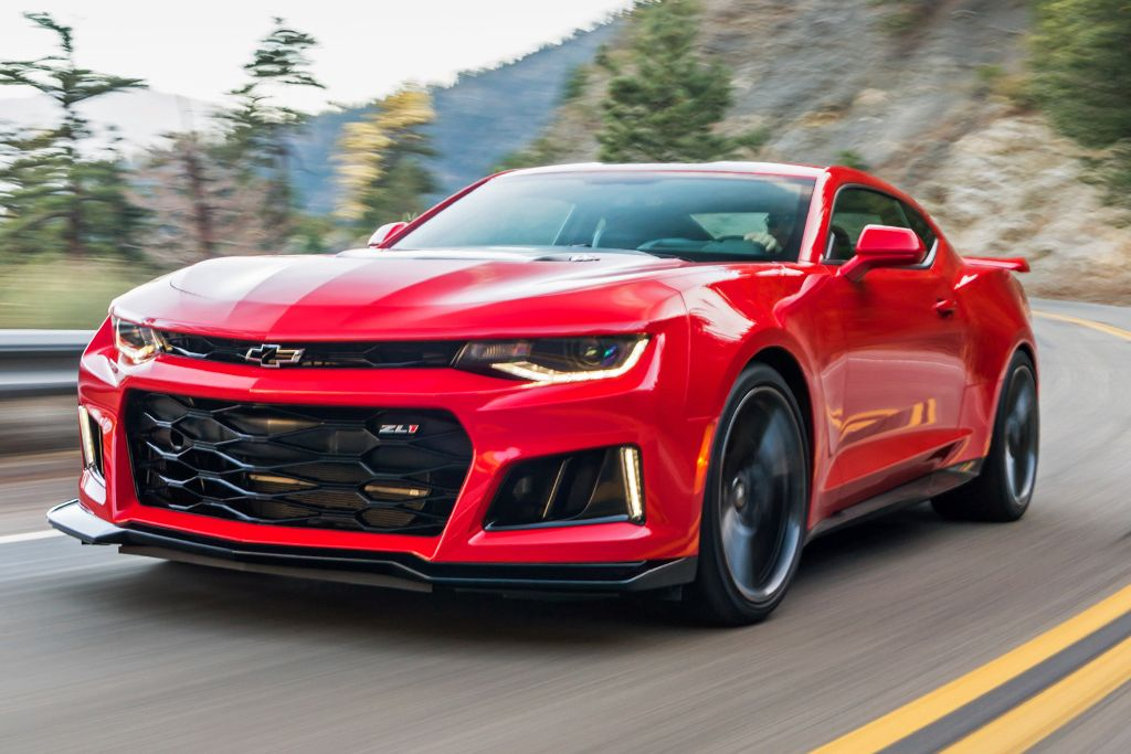 New Chevy Camaro Zl1 Configurations Reviews Ratings Specs