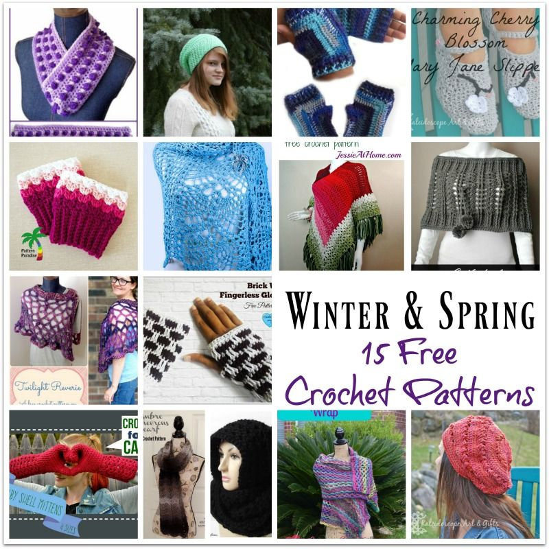 Winter and Spring Round Up - a guest post on StitchesNScraps.com