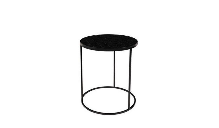 Beistelltisch Glaze Schwarz Wolle Kaufen Beistelltisch Tisch