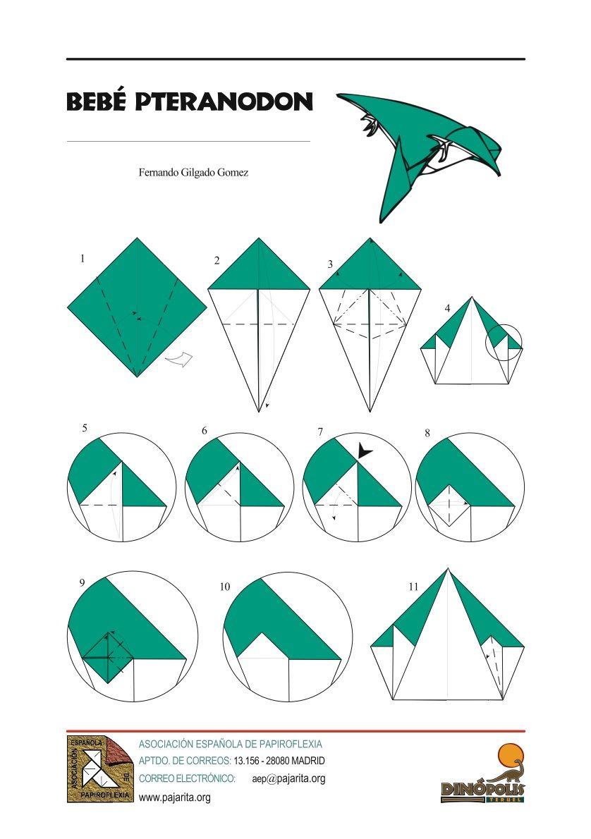 pteranodon   origami   pinterest   magic tree houses and origami
