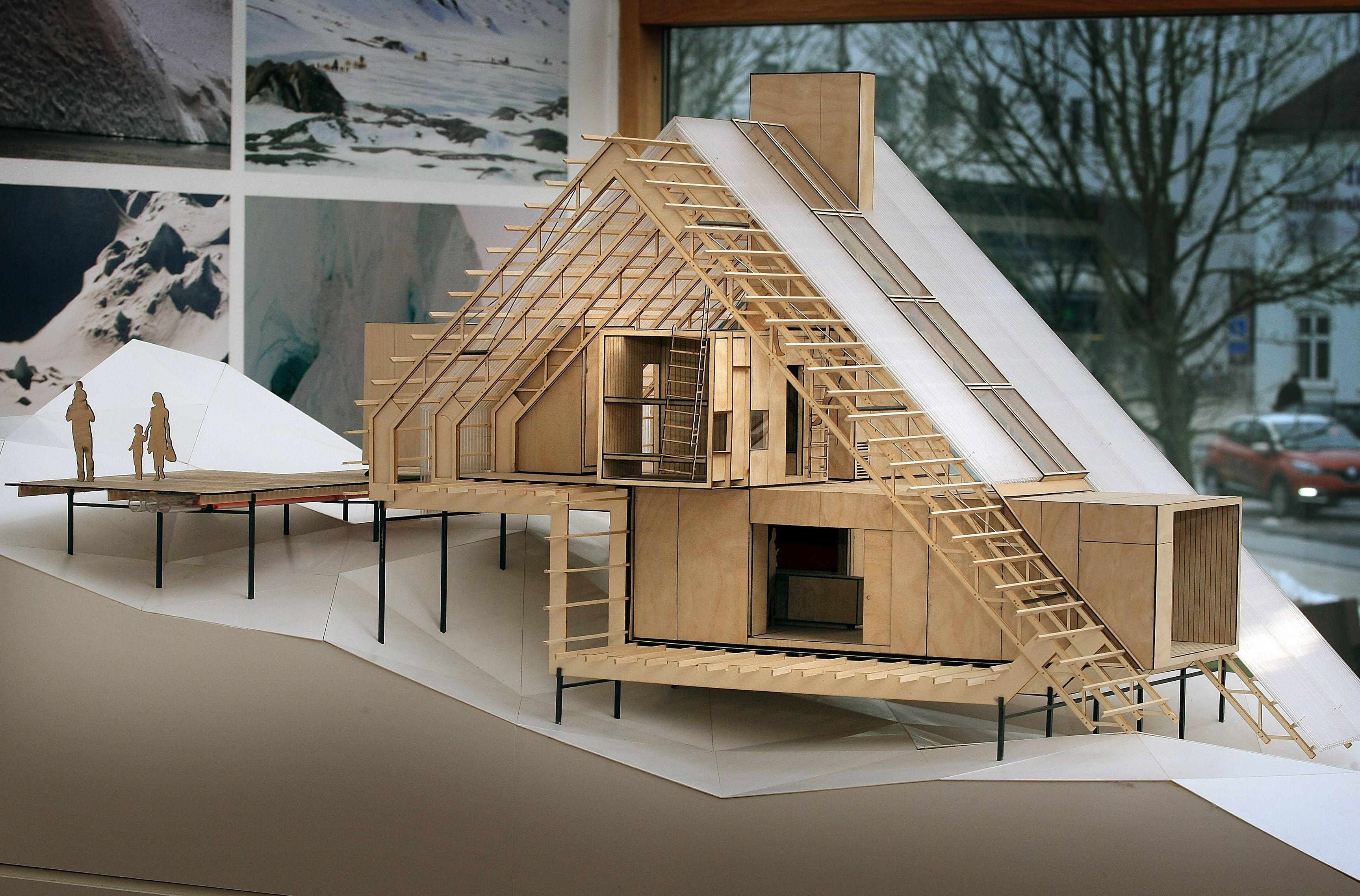 Possible greenland models maqueta arquitectura for Arquitectura y diseno de casas modernas