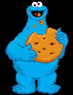 Mama Decoradora Cookie Monster Png Descarga Gratis Monstruo Come Galletas Come Galletas Imagenes Del Come Galletas